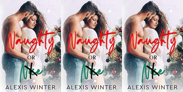 cover of naughty or nice by alexis winter, books