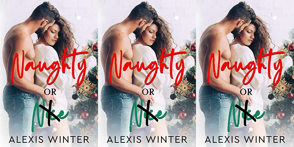 books, cover of naughty or nice by alexis winter