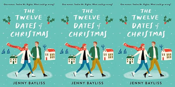 cover of the twelve dates of christmas by jenny bayliss, books