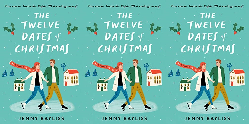 books, cover of the twelve dates of christmas by jenny bayliss