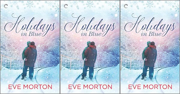 cover of holidays in blue by Eve Morton, books