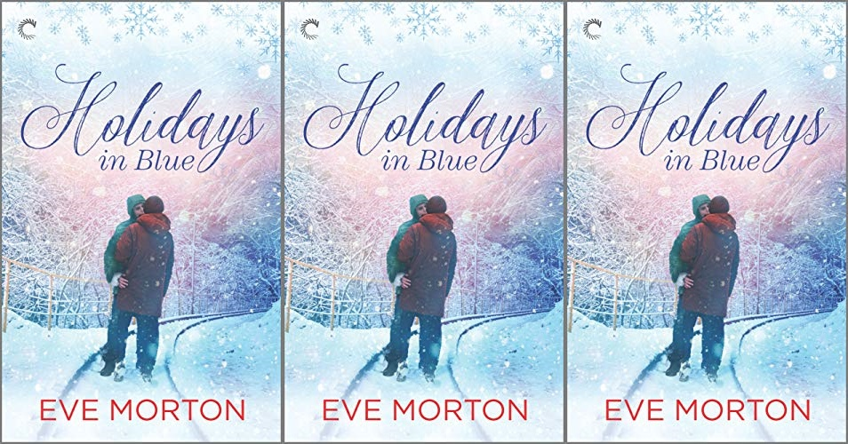 books, cover of holidays in blue by Eve Morton