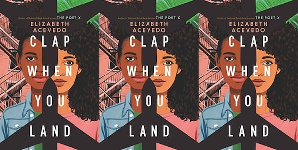 cover of the book clap when you land by elizabeth acevedo, books