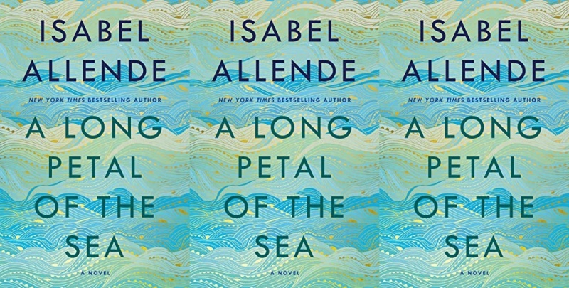 books, cover of a long petal of the sea by isabel allende
