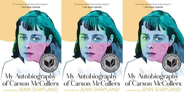 cover of my autobiography of carson mccullers by jenn shapland, books