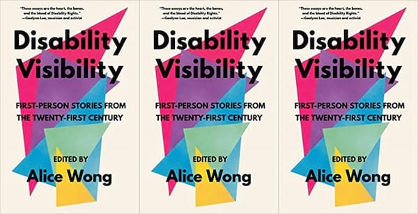 cover of disability visibility by alice wong, books