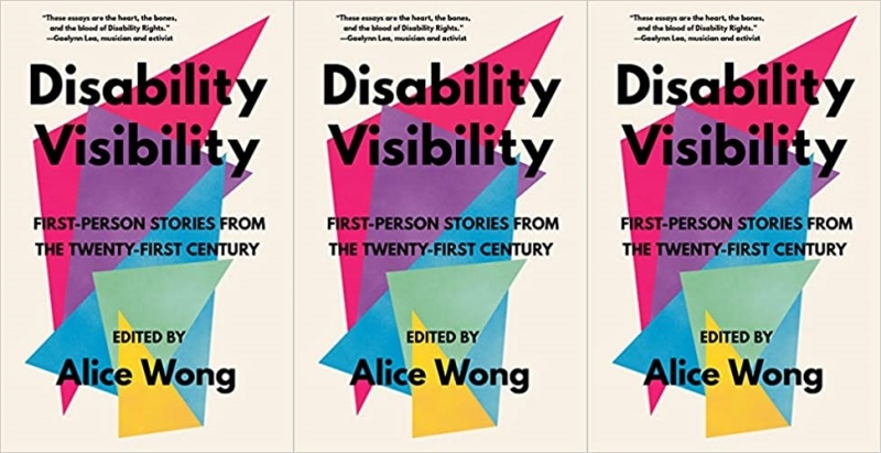 books, cover of disability visibility by alice wong