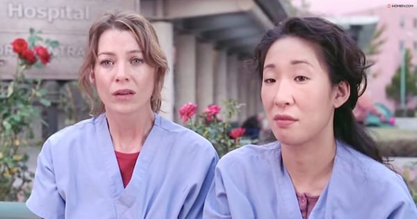 hospital, twisted sisters, yang, meredith