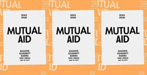 cover of mutual aid by dean spade, books
