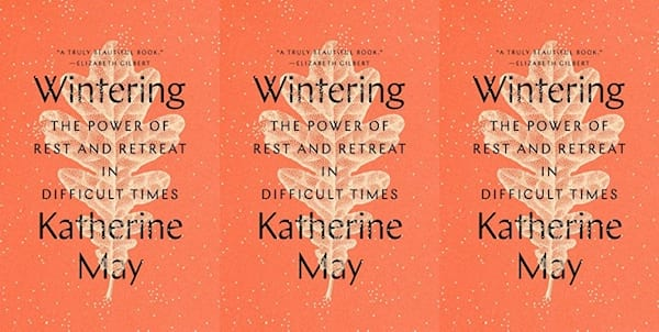 cover of wintering by katherine may, books