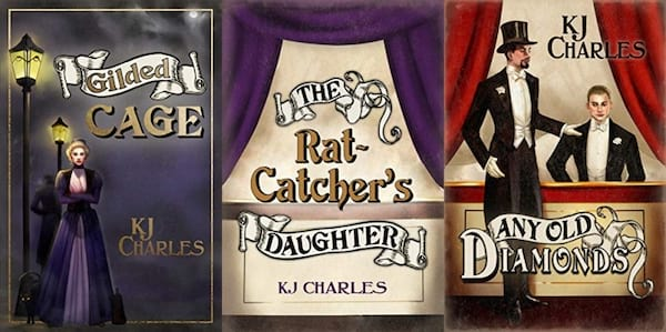 image of the lilywhite boys series by kj charles, books