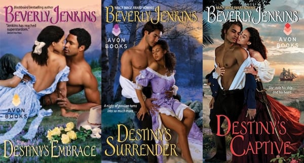 covers of the destiny series by beverly jenkins, books