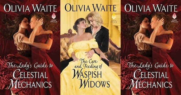 covers of the feminine pursuits series by olivia waite, books