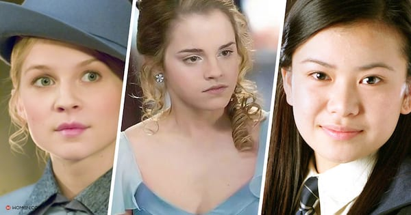 fleur, hermione, cho chang, witch, hhp