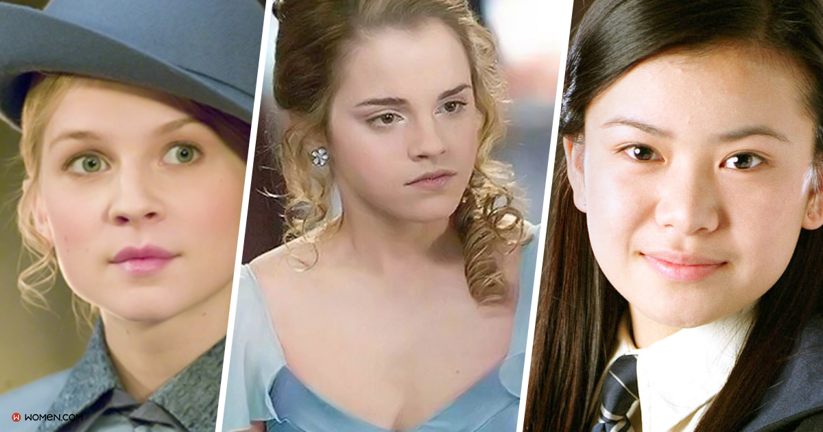 hhp, witch, cho chang, hermione, fleur