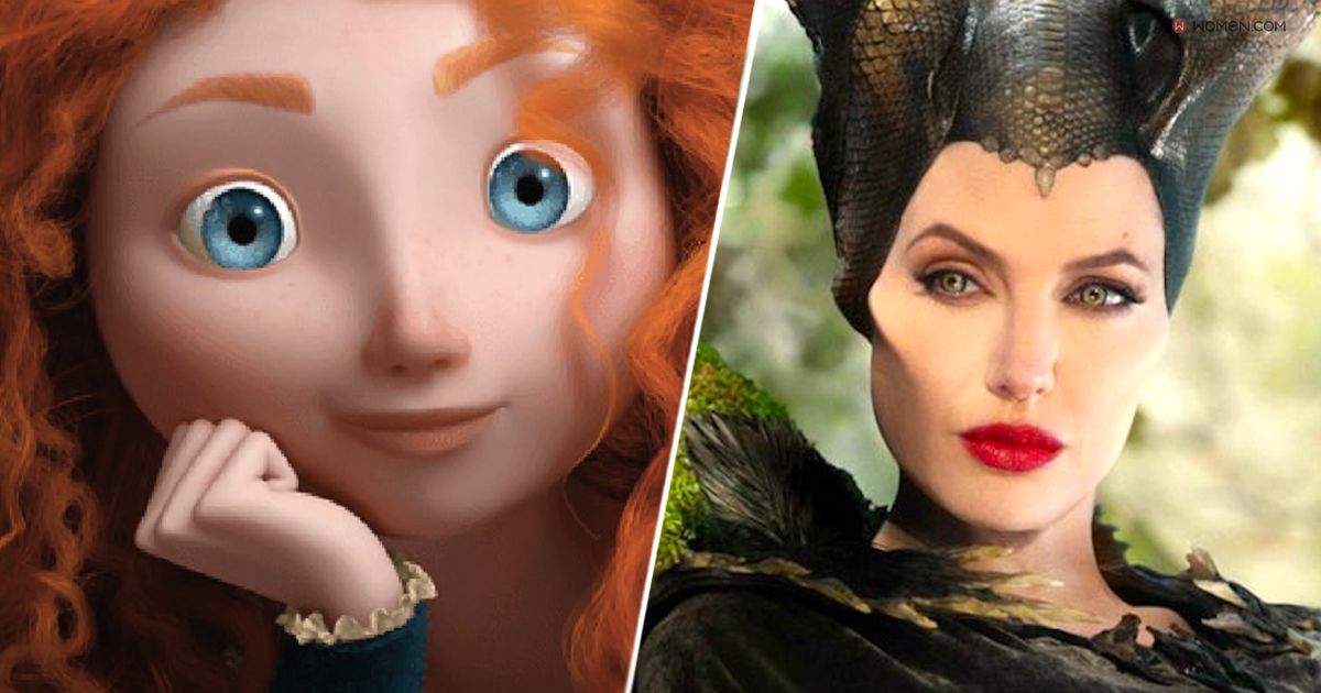 maleficent, brave, Disney trivia