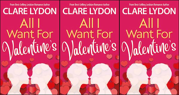 all i want for valentine's by clare lydon, books