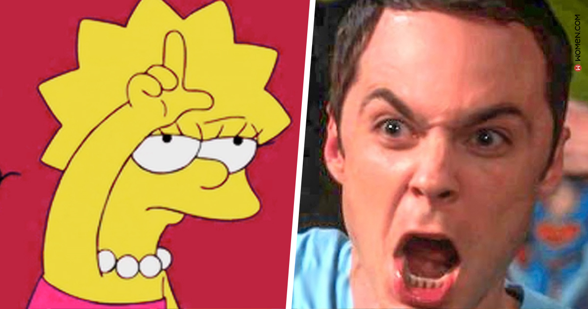 sheldon, big bang theory, Lisa simpson