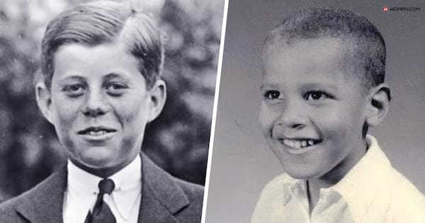 American presidents childhood pictures