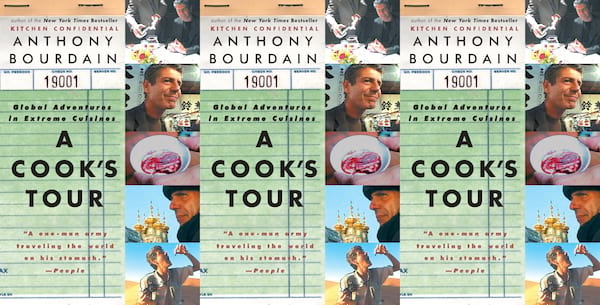 a cook's tour by anthony bourdain, books