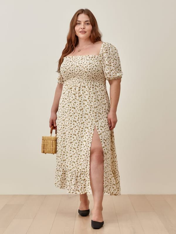 plus-size, ethical, dress, reformation