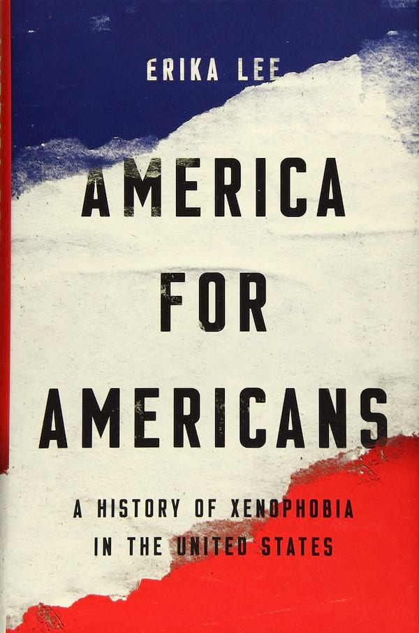 books, america for americans by erika lee