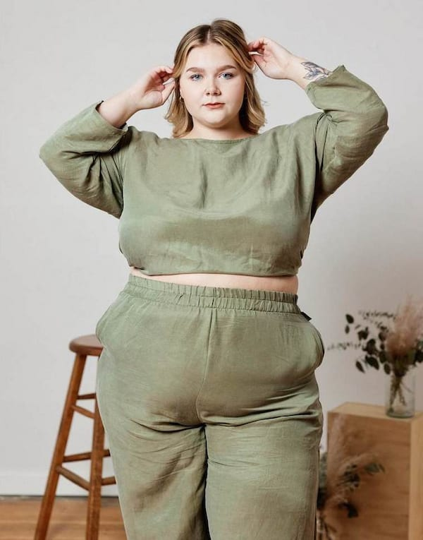 free label plus size ethical sustainable clothing for women