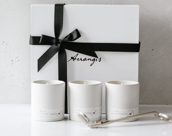sustainable, non-toxic scented candles