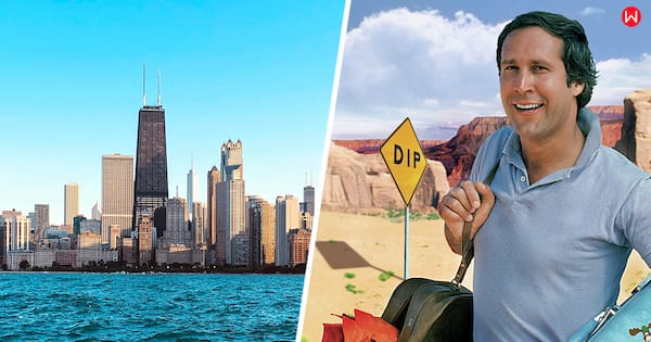 Chicago, US, American, US cities, Chevy Chase, Name The American City By A Skyline Image