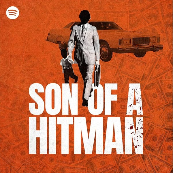 image of the son of a hitman podcast logo