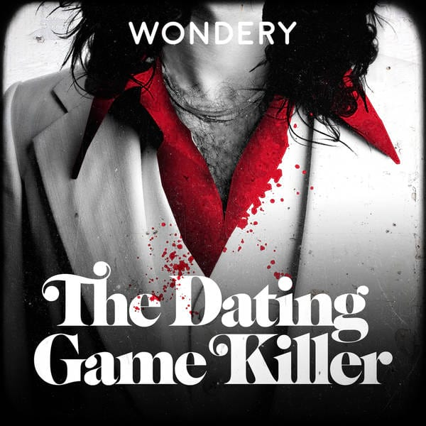 image of the dating game killer podcast logo