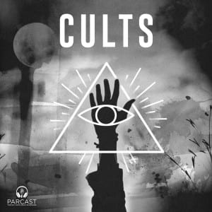 image of the cults podcast logo