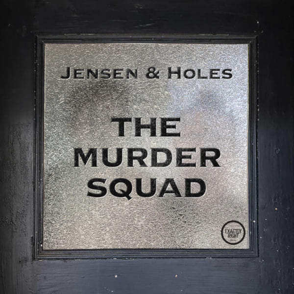 image of the murder squad podcast logo