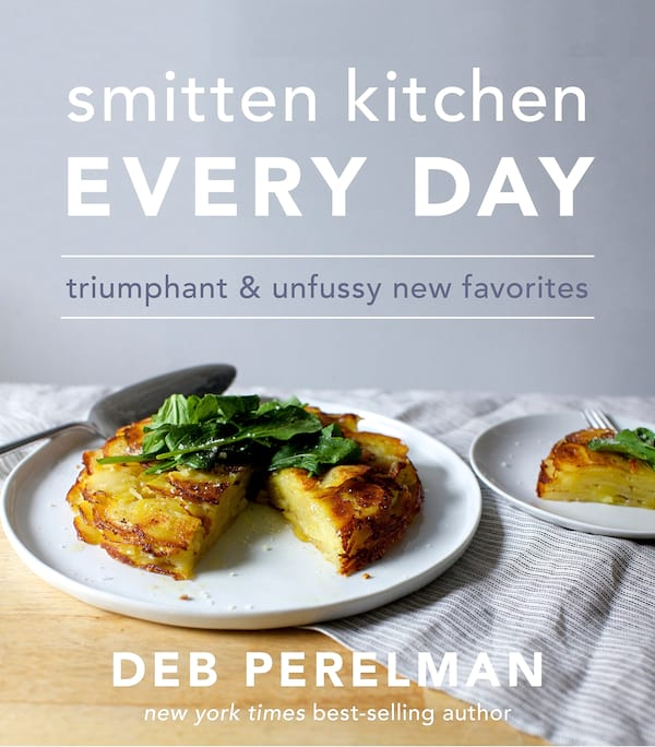 books, cover of smitten kitchen every day by deb perelman
