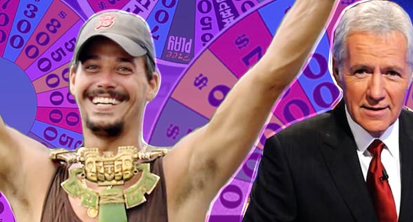 game shows survivor and jeopardy