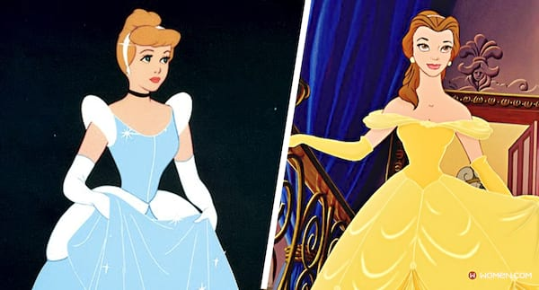 belle's dress, Cinderella's dress, Disney princess, Disney dress, belle, cinderella