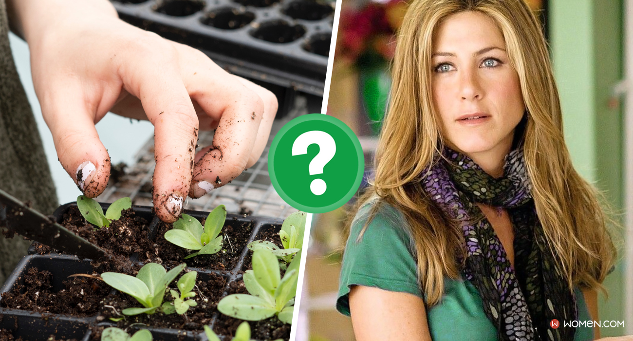Jennifer Aniston, love happens, nature, greenthumb, gardening, plants