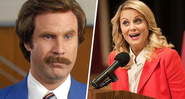 will ferrell, amy poehler, Parks and Rec, anchorman