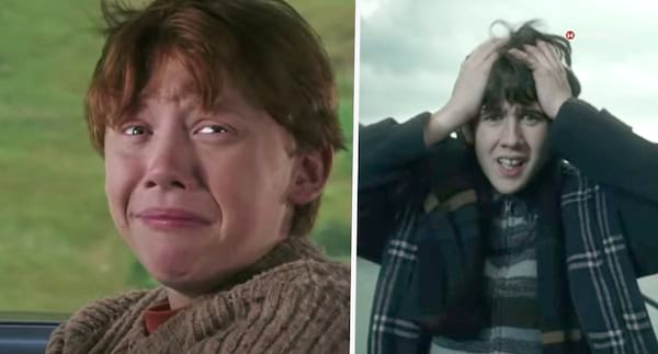gilly weed, ron weasley, harry potter fail, harry potter