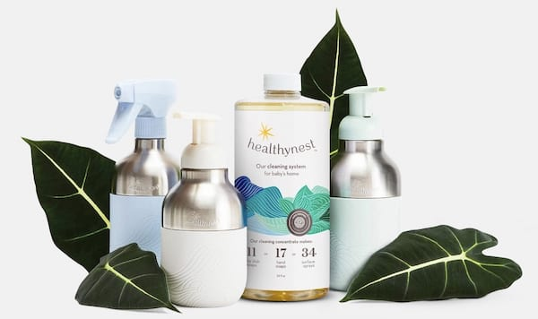 baby-friendly, eco-friendly cleaning supplies, healthy baby