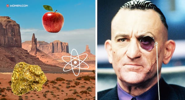 The Adventures of Rocky and Bullwinkle, memory quiz, random, gold nugget, Apple, atom, Grand Canyon, de niro