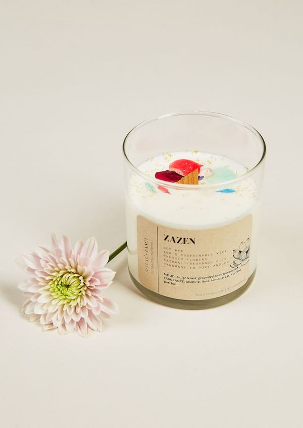 home, ritual and fancy, home decor, dried flowers, candle