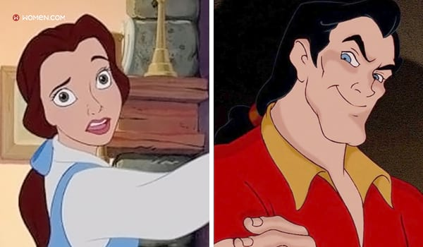beauty and the beast, belle