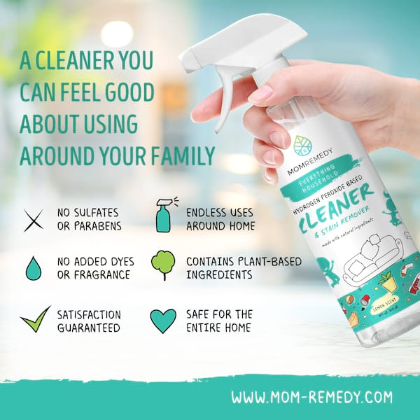 mom remedy non-toxic household cleaner and stain remover