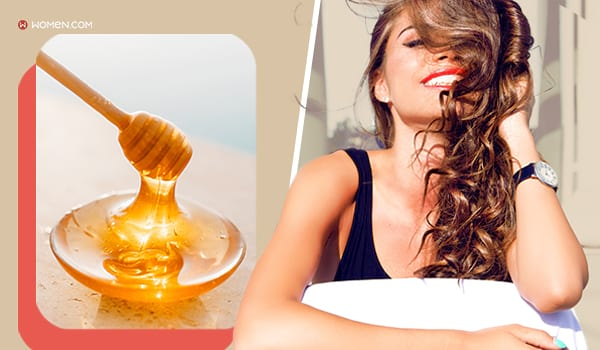 hair mask, Honey, Rejuvenate Your Hair With These 6 Easy At-Home Hair Masks